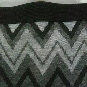 Worthington Skirts - Worthington Knit Chevron Print Skirt